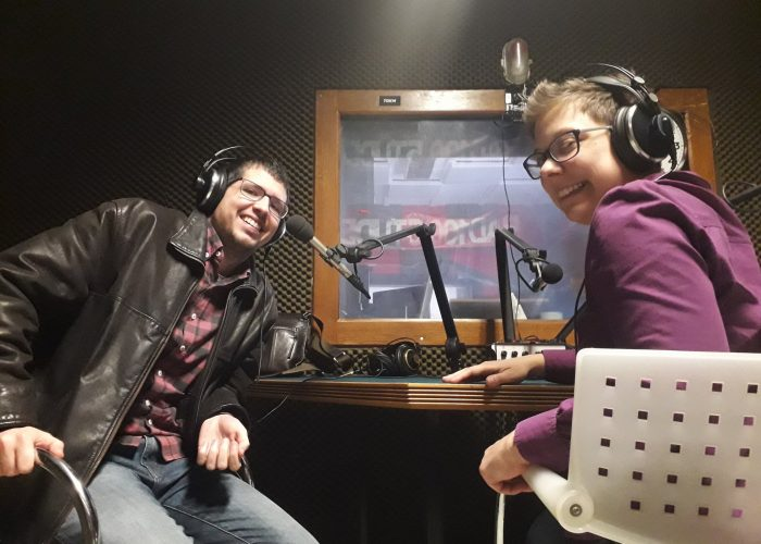 Gostovanje na Radio Student u emisiji Hodalica